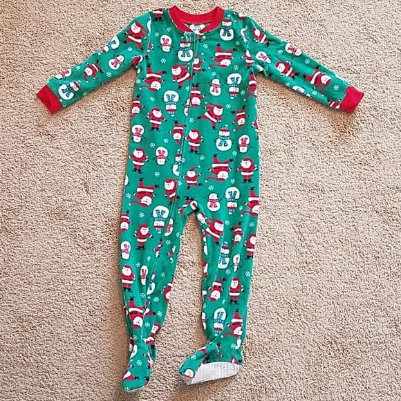 carters boys 4t fleece christmas pajamas